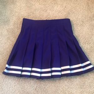 Dresses & Skirts - Purple Cheerleading Skirt Tailgate Size XS